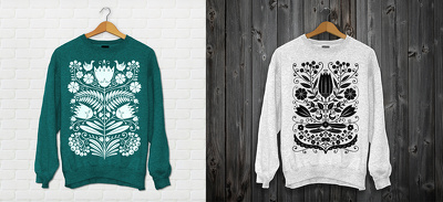 Make print design for T-shirt  in differrent topic for you