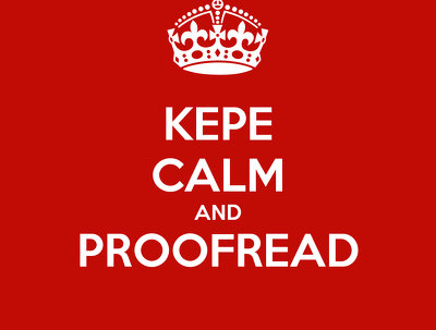 Proofread up to 1,000 words in English / Chinese