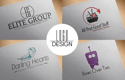 Create you a font based, bespoke & unique logo design