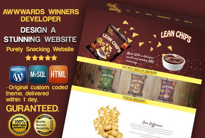 Design & develop bespoke WordPress website for your business/store/wix/anything