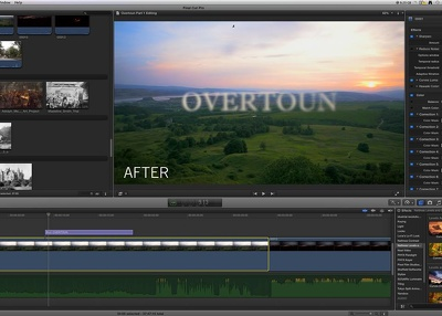 Edit your videos professionally in Final Cut Pro X