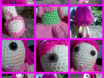 Crochet kids dolls