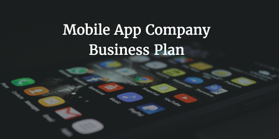 Send mobile app company business plan