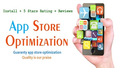 Provide you 15 reviews and rating with selected keywords (ASO) on your playstore app