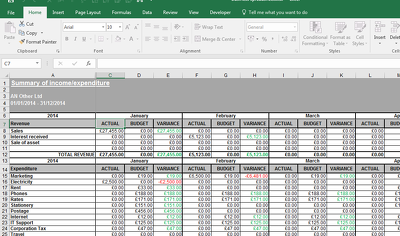 Create a custom Excel spreadsheet for home or business
