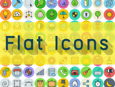 Design 10 amazing flat icons for your business or website