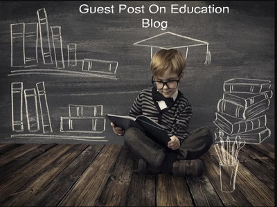 Do guest post on education blog