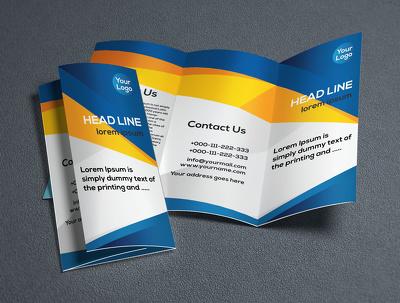 Design Bi-Fold or Tri-fold Brochure for your corporate site.