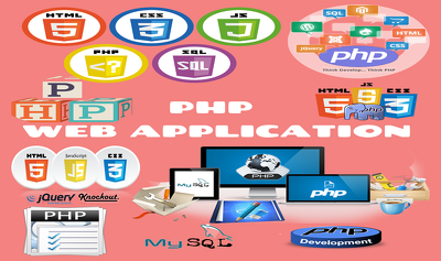 Design and develop web application in PHP