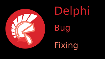 Provide assistance solving one issue in a Delphi program
