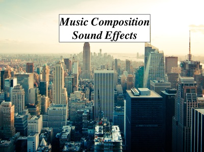 Compose music or SFX for your film, advert, corporate video or game