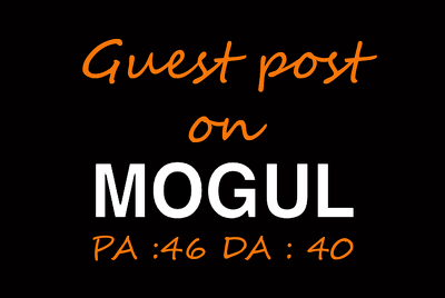 Publish a guest post on Onmogul.com