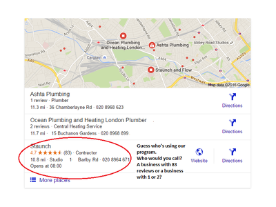 Optimize your Google My Business page & give you real customer reviews using my app
