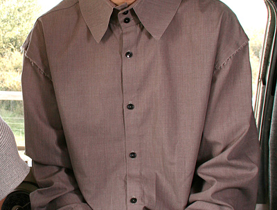 Sew and complete a shirt (mens and womens)