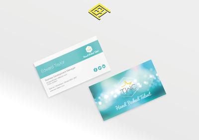 Design & Print 500 Superior 450gsm Matt Laminated Business Cards