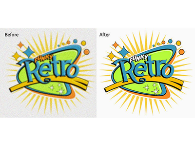 Redraw your existing logo / image as high resolution VECTOR with in 2 to 4 hrs only