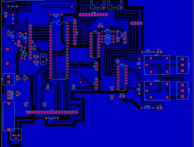 Design 1 0r 2 Layer PCB