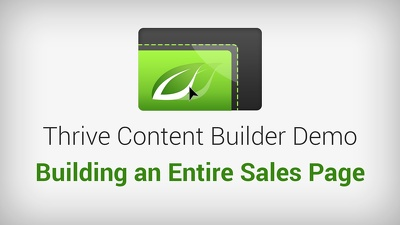 Install and activate Thrive Content Builder