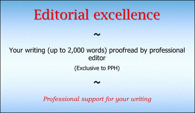 Your writing (up to 2,000 words) proofread by professional editor