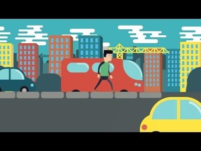 Create a 60 sec. 2D animation video