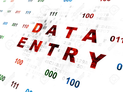 Provide data entry work for 1 hour