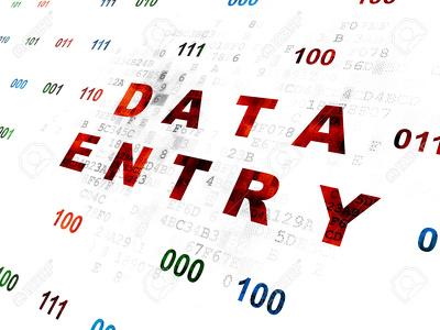 Provide data entry work for 1 hour