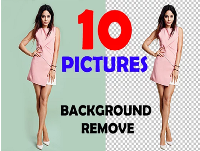 Do any 10 images background remove