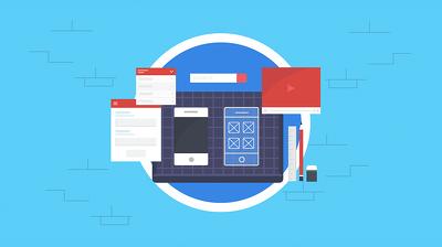 Create a full illustration for websites