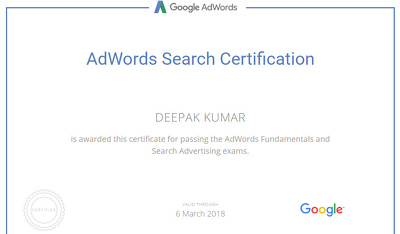 Do 6 AdWords partners certification exam