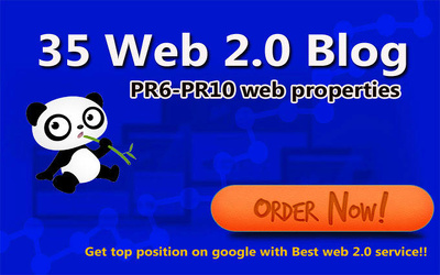 Provide 35 web 2.0 properties for Google top rank your niche website