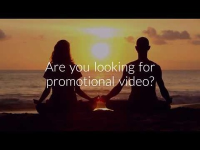 Make Realistic yoga promo video