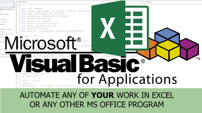Automate work in Excel by using VBA to any of your spreadsheets