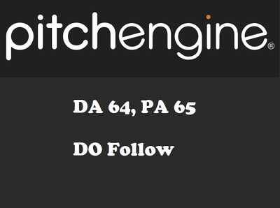 Publish a guest post on PitchEngine - PitchEngine.com - DA64, PA65
