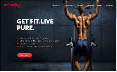 Design and create 4 Pages wordpress website