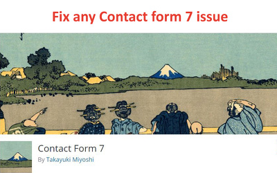 Fix any Contact form 7 issue wordpress