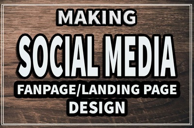 Design and make your Social Media Page