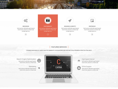 Design PSD mockup for your website