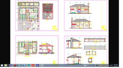 Produce a set of construction documents for residence 180$