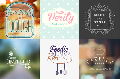Design a custom, professional logo for your business or blog
