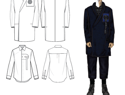 Create technical fashion drawings
