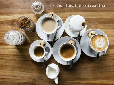Proofread your work (up to 3000 words)