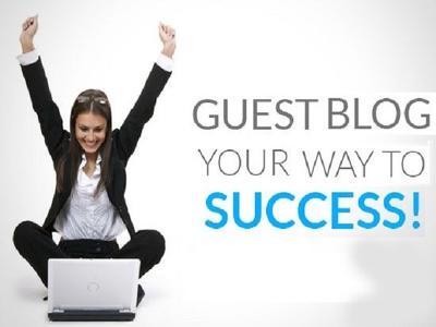 Guest Post 5x600 word SEO Guest Blogs via Blogger Outreach for linkbuilding DA30+