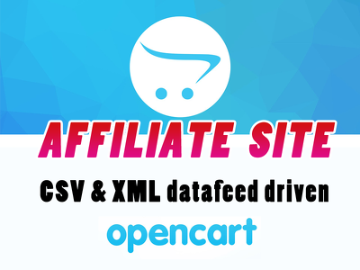 create an AFFILIATE site in Opencart.