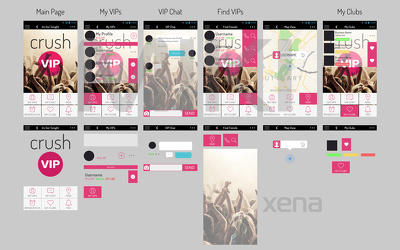 Design 10 App screens