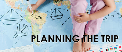 Organize your trip and create itinerary with travel plan
