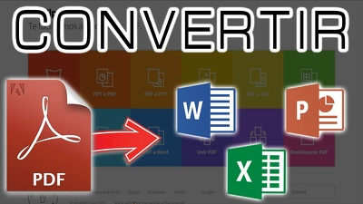 Convert PDF To Word /Excel /PowerPoint