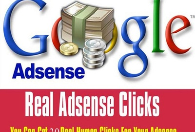 10 Real google adsense add click (UK, USA)