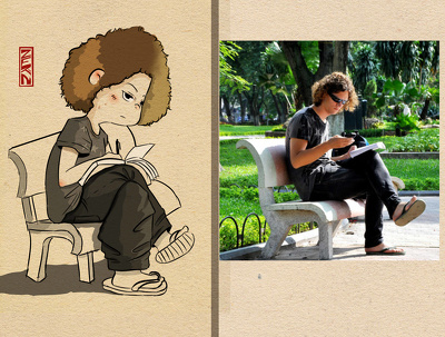 Drawing Chibi from your photos