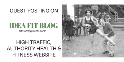 Guest Post on Idea Fit - High DA Link Building
