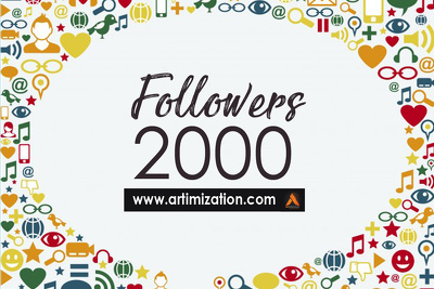 Add 2000 followers on your twitter/Social Media page to gain credibility